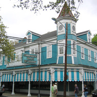 The Commander's Palace Restaurant in the Garden District.