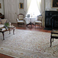 A room in the mansion at Madewood Plantation (near New Orleans).