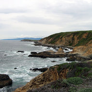 The view from Bodega Head, Sonoma County State Beach.