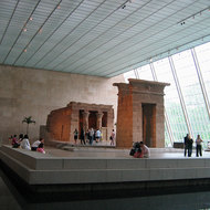 The Temple of Dendur, ca. 15 B.C.E.; Roman period Egyptian; Nubia, Dendur.
