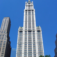 The Woolworth Building.