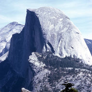 Half Dome from Glacier Point.