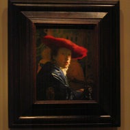 Girl with a Red Hat, c. 1665-1666.