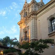 A building in Balboa Park.
