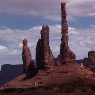 Rock formations in Monument Valley Navajo Tribal Park, Arizona