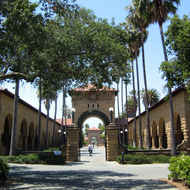The Stanford University campus.
