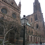 The Cathedrale Notre-Dame de Strasbourg.