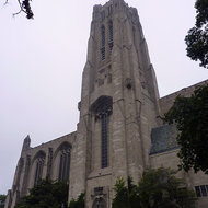 The Rockefeller Memorial Chapel on the University of Chicago campus.
