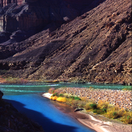 The confluence of the Little Colorado and the main stem Colorado River.