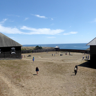 A view of Fort Ross.
