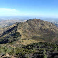 A view from Mount Diablo in California.
