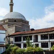 Bajralki Mosque and Buildings of the League of Prizren.