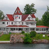 Casa Blanca on the St. Lawrence river.