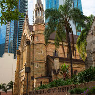The Cathedral of St Stephen in downtown Brisbane.