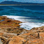 Mount Yarrahapinni from South West Rocks.