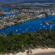 Noosa and the Noosa River.